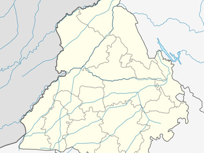 Map Of Punjab Showing Location Of Firozpur