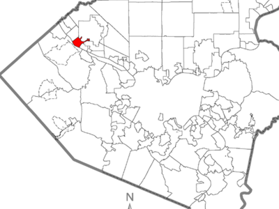 Map Of  Sewickley