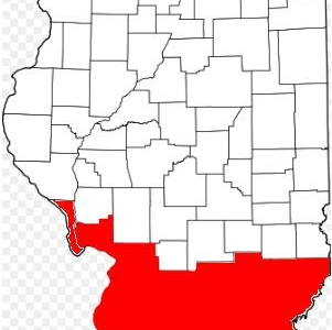 Map Of Southern Illinois