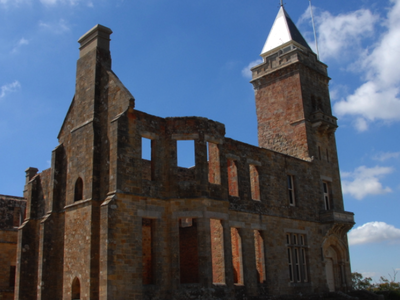 Ruins Of Marble Hill