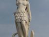 Marble Statue Of  Indian Queen