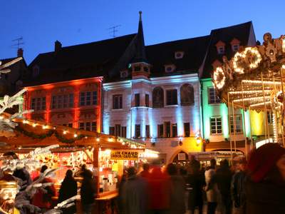 Christmas Market In Mulhouse