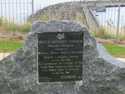 Marconi Memorial  Ballycastle  County  Antrim
