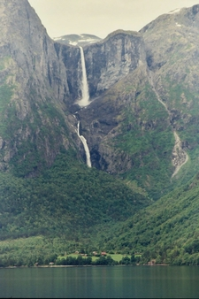 Mardalsfossen Waterfall Norway
