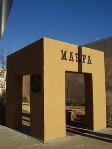 Marfa Box Marker Plaque