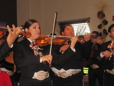 Mariachi Band In  Zapata