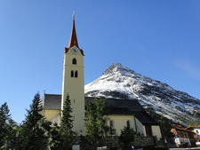 Maria Geburt Pilgrimage Church Galtür Austria