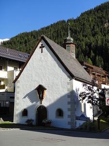 Maria-Schnee-Kapelle, Ischgl, Austria