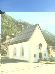 Ischgl's Maria Schnee Chapel
