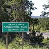 Marias Pass Board - Glacier - USA