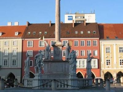 Mariensule Column In Wiener Neustadt