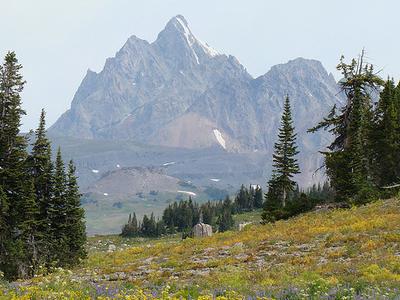 Marion Lake TrailAt Grand Tetons - Wyoming - USA