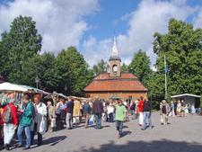 Market Day In Sigtuna Sweden