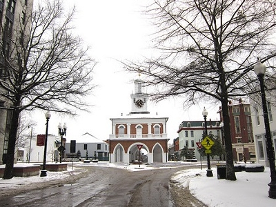 Market House From Market Sq. - Fayetteville NC