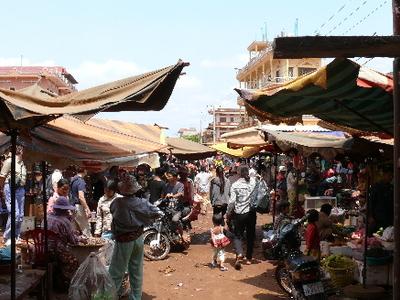 Market In Banlung - Ratanakiri