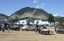 Market In Tsetserleg