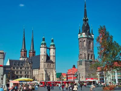 Market Square Halle, Saxony-Anhalt