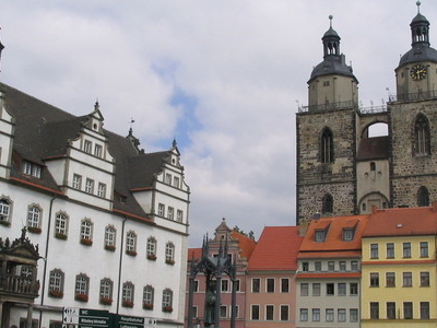 Market Square With Ancient Town Hall