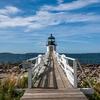 Marshall Point Light Approach Bridge - Port Clyde ME