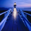 Marshall Point Light At Night - Port Clyde ME