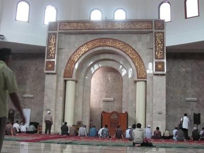 Masjid Raya Bandung Mihrab