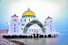 Masjid Selat Melaka - Malacca Straits