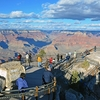 Mather Point Viewing Platforms In Grand Canyon National Park AZ
