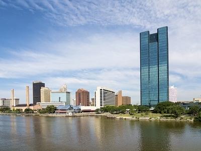 Maumee River - Downtown Toledo - Ohio