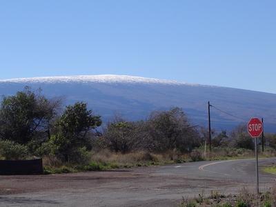 View Of Mauna Loa