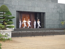 Changing Of The Guards At The Mausoleum