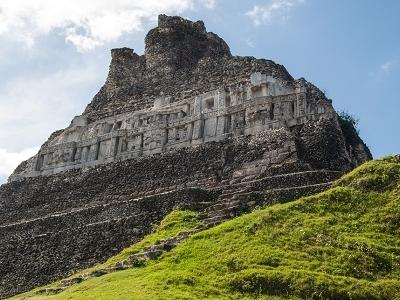 Mayan Ruins At Xunantunich In Belize