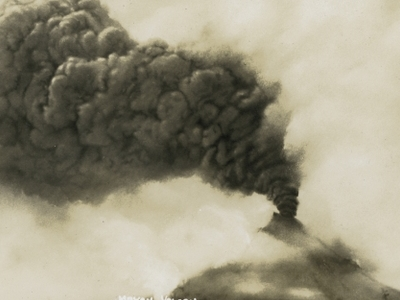 Mount Mayon In Eruption On July 21, 1928