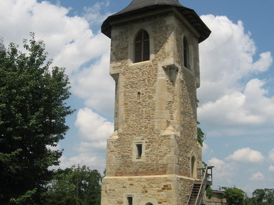 The Bell Tower Of Monastery Popauti