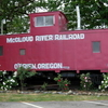 Mc Cloud River Railroad Caboose