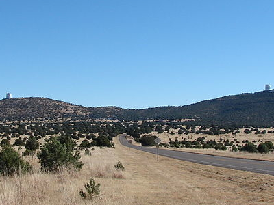 McDonald Observatory Showing Mt. Fowlkes