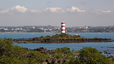 McKenzie Bay Lighthouse & Hauraki Gulf - Auckland NZ