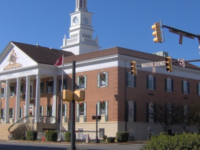 Mcminn County Courthouse In Athens