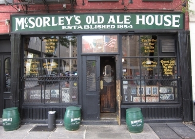 The Front Of McSorley's