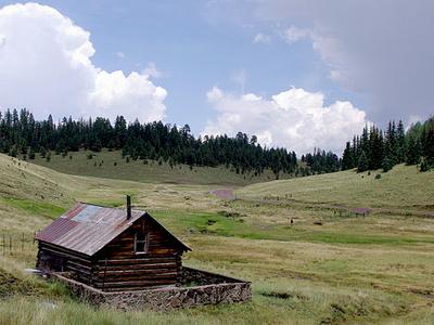 Meadow & Cabin Near Big Lake