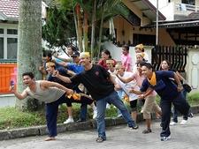 Medan - Local Street Show - Sumatra