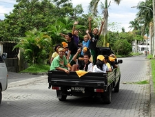 Medan Street View - Sumatra - Indonesia