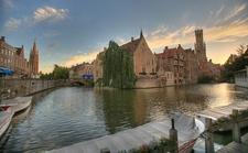 Medieval Bruges - Canals & Sunset