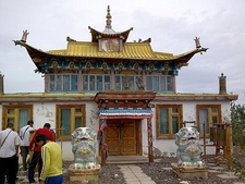 Megjid's Monastery In Durgun At Khar Us Nuur - Khovd Aimag