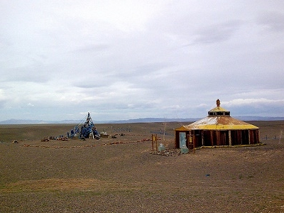 Megjid's Monastery In Durgun At Khar Us Nuur