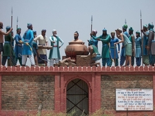 Mehdiana Bhai Dayala Being Boiled Alive