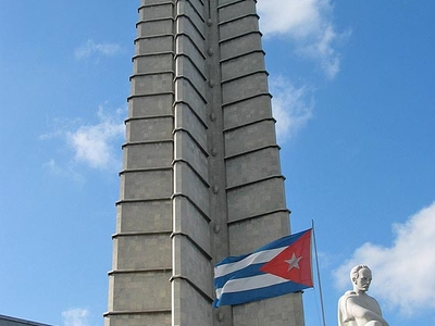 José Martí Memorial At Revolution Square