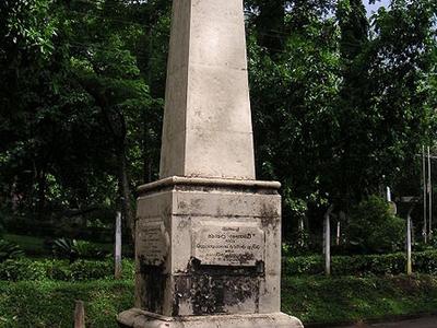 Memorial-Matale Rebellion In 1848
