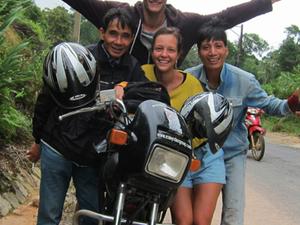 Motorcycle to Mekong Delta Fotos