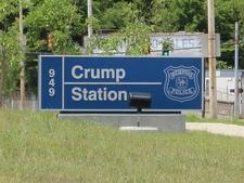 Memphis Police Department Crump Station On Crump Boulevard In Memphis