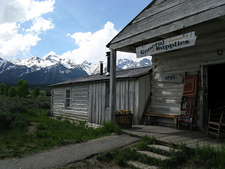Menor's Ferry Store - Grand Tetons - Wyoming - USA